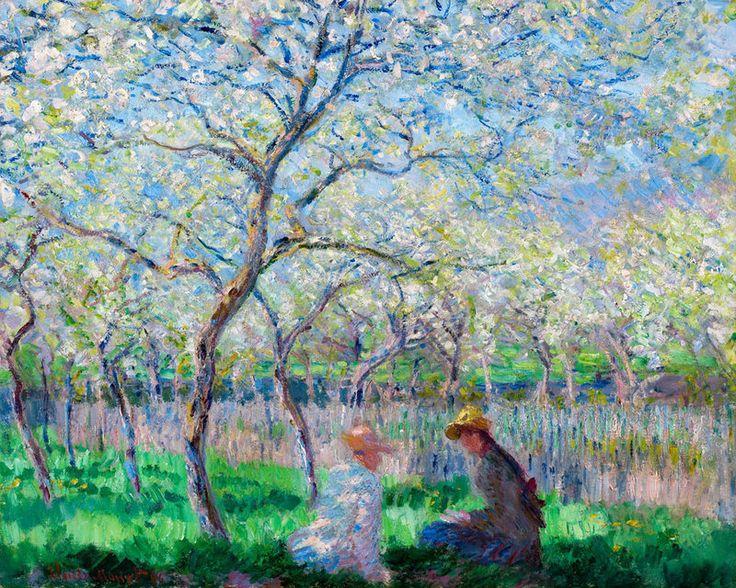 Le Printemps, Claude Monet