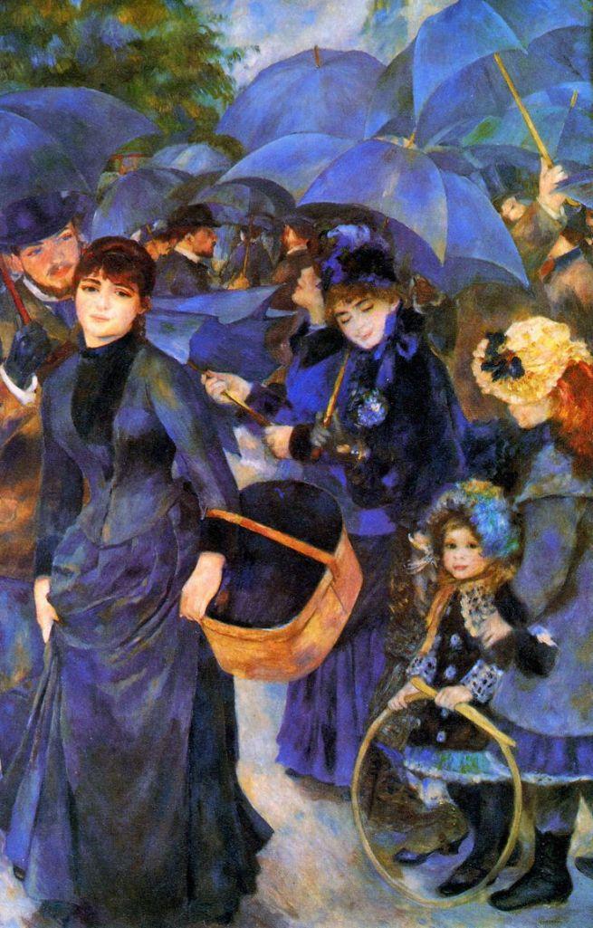 Umbrellas, Pierre-Auguste Renoir